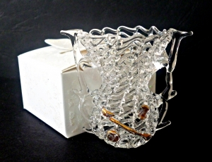 стъклена вазичка 10509