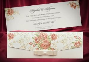 Сватбена покана 5493