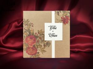 Сватбена покана 5555