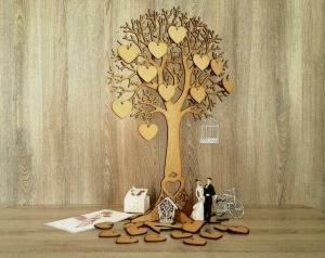 Сватбено дърво за пожелания