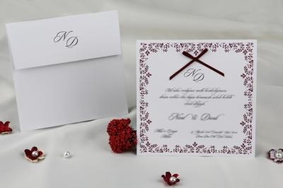 Сватбена покана 60283